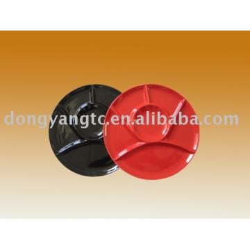 Factory direct wholesale decorative ceramic glazed plates