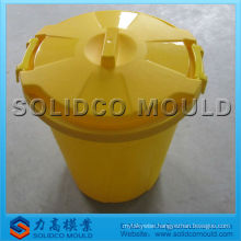 plastic trash bin mold