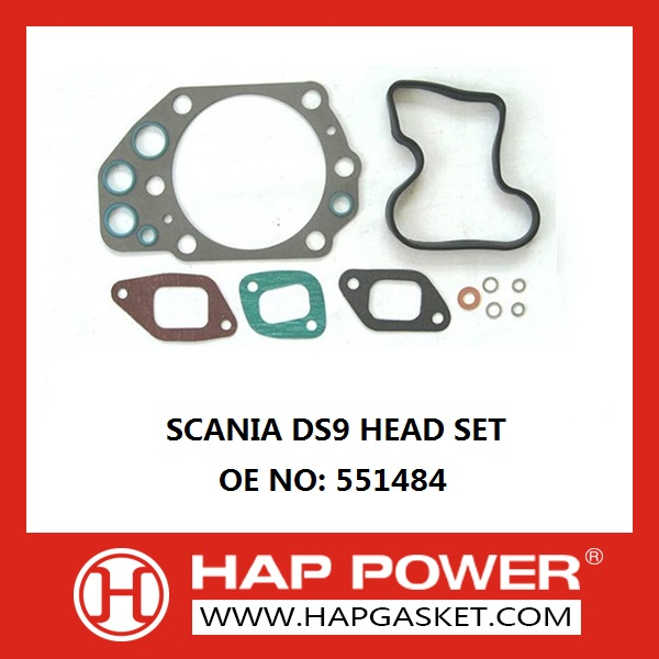 Комплект прокладки Scania 551484