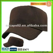 Casquillo del estilo militar marrón MC-1280