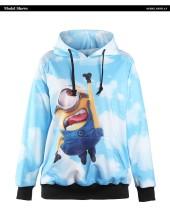 Custom sublimation sweatshirt animal 3d print hoodie