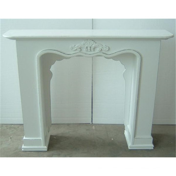 Decorative Mantel Shabby Chic Wood Fireplace