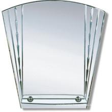 5mm Newly Designed Silver Decorate Bathroom Mirror (JNA145/K)
