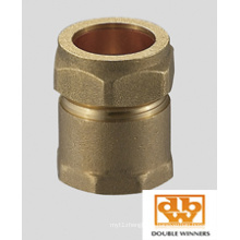 Brass Compression Fitting Tank Connector