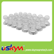 Transparent Magnetic Push Pin Office Thumbtack Magnets