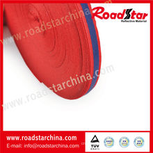 High visibility polyester reflective safety ribbon