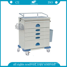 AG-At018 Luxurious Ss Anesthesia Cart
