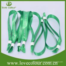 Fabrik Preis Polyester sublimiert benutzerdefinierte Frottee Wristband