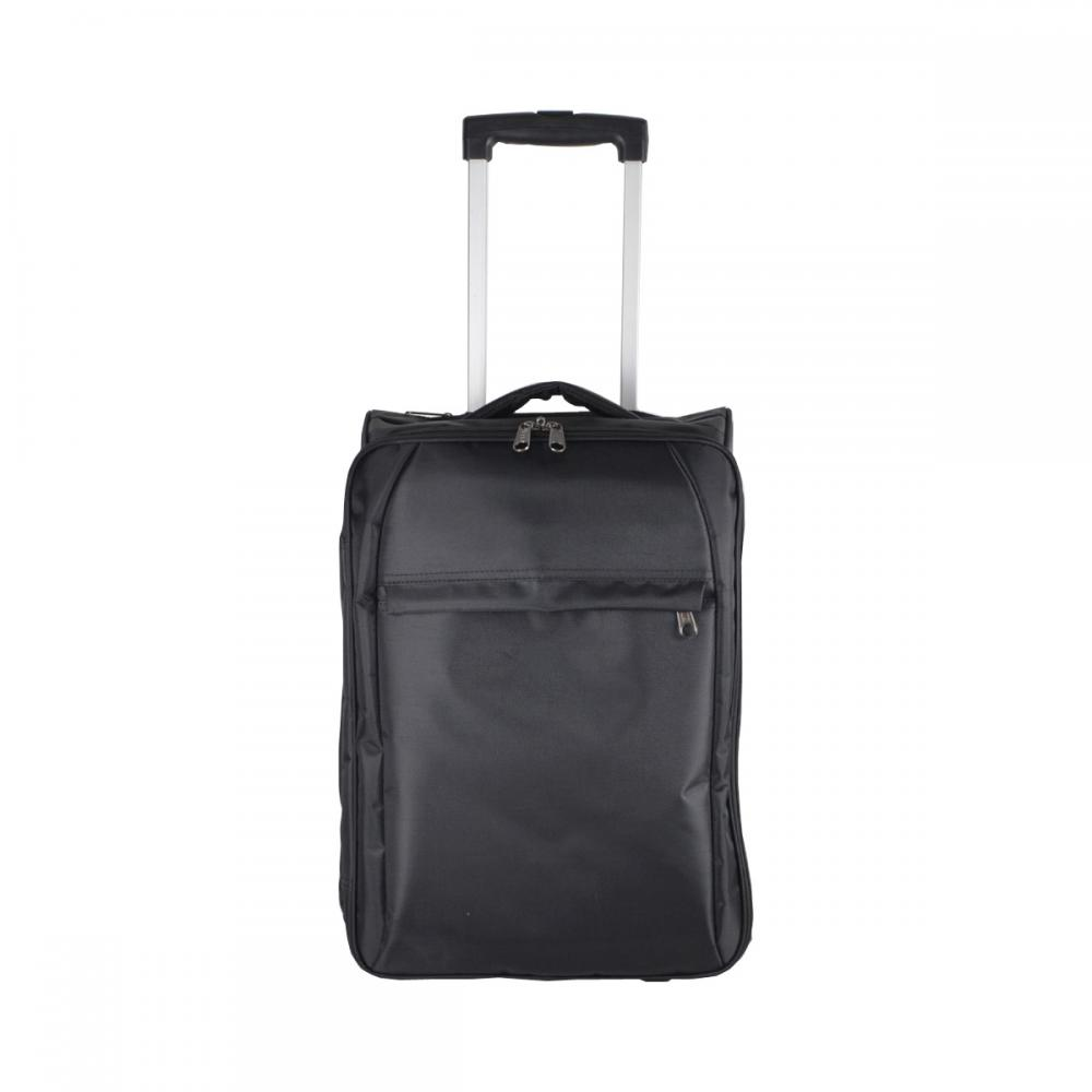 Black Carry on Wheeled Travel Bag