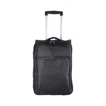 840D Black Carry on Foldable Trolley Bag