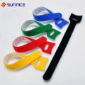 Customized Printed Hook and Loop Colored Cable Tie