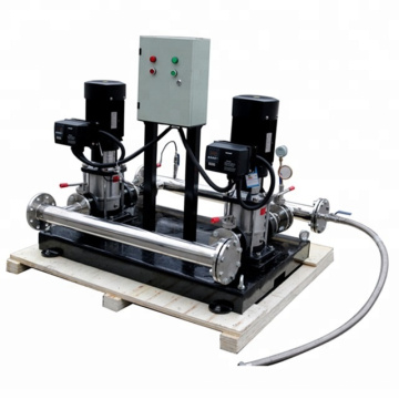 MBPS series water supply system for apartment