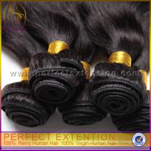 привлекательный подарок пункт 100% необработанных перуанский волосы тела волны