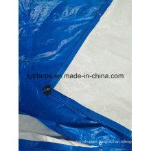 HDPE Woven Fabric Tarpaulin Cover, LDPE Coating Blue Tarpaulin Sheet