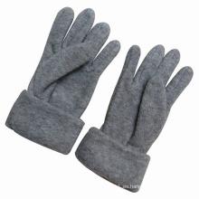 Guantes calientes de invierno hechos punto polar de la moda de los niños (YKY5432)