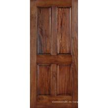 Puertas exteriores de madera sólida moderna de caoba Best Saler