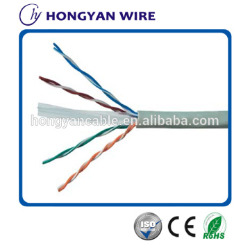CCA BC UTP Cat6 CABLE 23 AWG 4 ζεύγη με έγκριση CE
