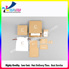 Wholesale Recycled Custom Empty Gift Use Kraft Paper Box
