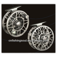 FLR004 Engins de pêche réel et aluminium pêche à la mouche bobine moulinet