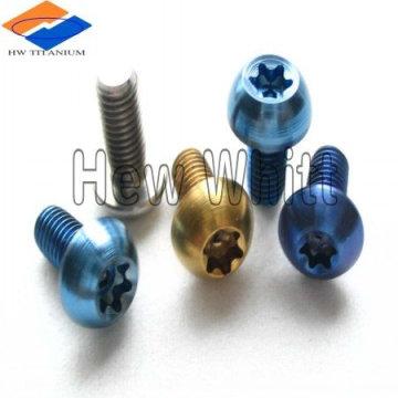 Titanium fasteners for automobile racing