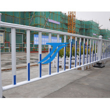 Temporärer Zaun, Straßensperre, städtischer Zaun
