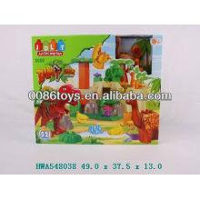 52pcs dinosaurier block