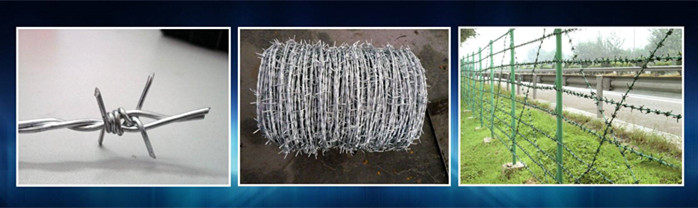 security barbed wire