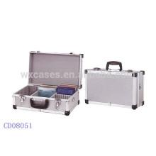 Etui CD de haute qualité CD 40 disques (10mm) aluminium vend en gros fabricant, Chine