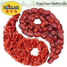 Nêspera Barbary Wolfberry Fruit Goji Orgânico