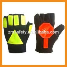 de contrôle de trafico guantes