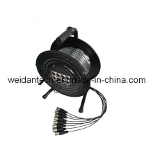 Weidan Multicore Cable 10meter X 8XLR in Metal Drum,