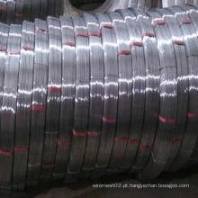 Fio de aço oval galvanizado mergulhado quente