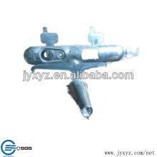 piezas de botón de cáscara de fundición a presión de aluminio