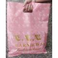 Gusset inferior patch reforçado alça plástico saco de compras
