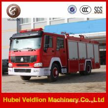 HOWO 266HP 2, 000 Liter Schaum Feuerwehrauto