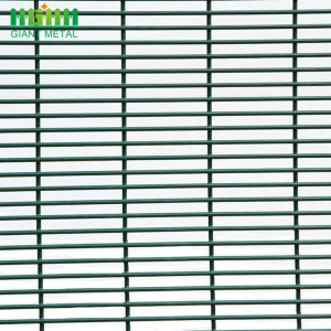 Prison 358 High Security Anti Climb Mesh Fence