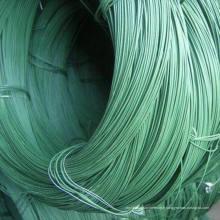 Fil en fer recouvert de PVC / Fil en acier revêtu de PVC / PVC en PVC Revêtu