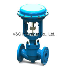 Válvula Globo de Control con Actuador Neumático