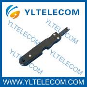 Ferramenta de inserção de porta fio 8A usado no teste de Jack IDC bloco