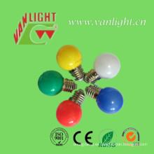 0.5W colorida decoración luz