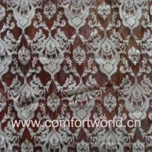Flocking Organza Curtain Fabric (SHCL00868)
