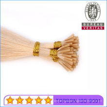 613# Blond Color 8-30inch Human Virgin Remy Hair I Tip Hair Extension