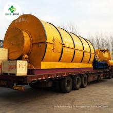 Fabrication et fourniture d'une usine de traitement des déchets en plastique de haute qualité