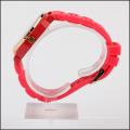 Pulseira de silicone aço inoxidável de volta japão movimento quartzo relógio sr626sw para mulheres