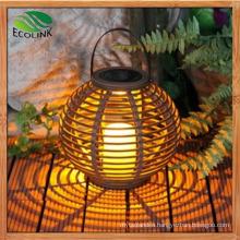 Rattan Solar LED Lantern/Chandelier/Lamp for Garden