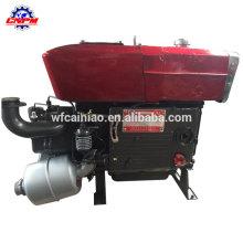 a água portátil do curso 4 refrigerou o único motor diesel do cilindro
