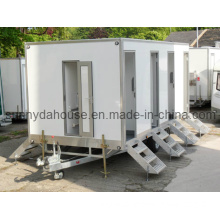 Trailer Tent, Portable Toilet, Movable Trailer Toilet