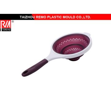 Colador plástico molde de alta calidad