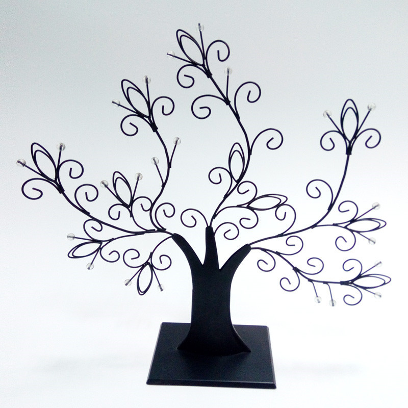 Metal Tree Home Decor Jewelry Rack
