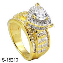 New Design 925 Sterling Silver Fashion Ring with Diamond